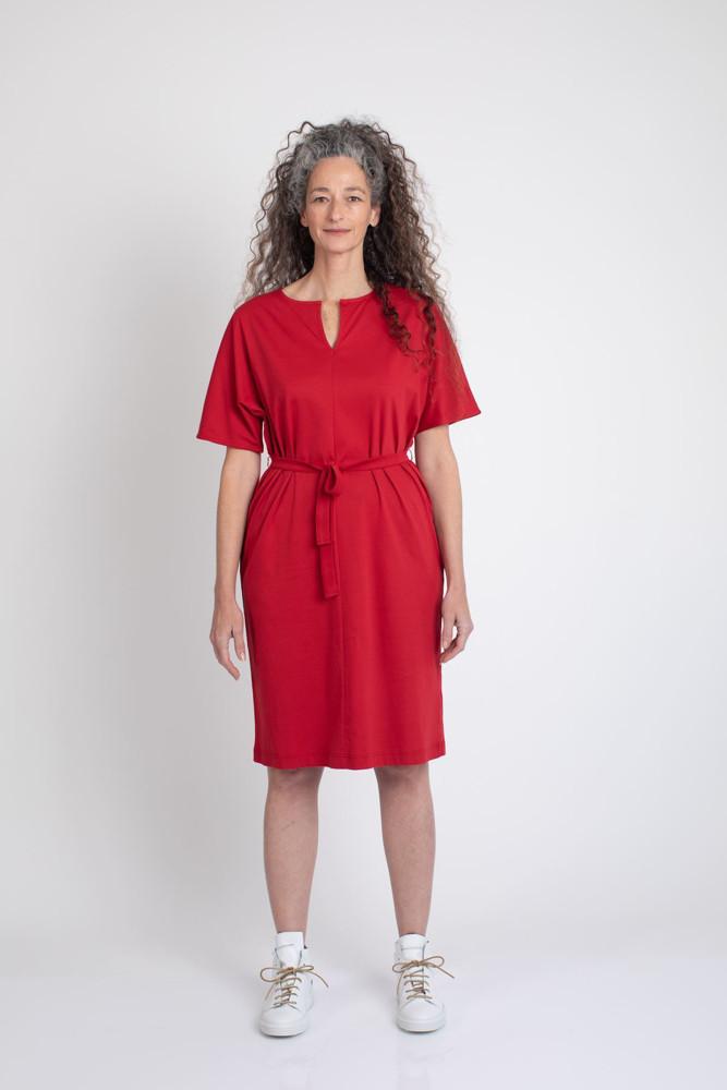 תמונה של שמלת DVASH אדומה