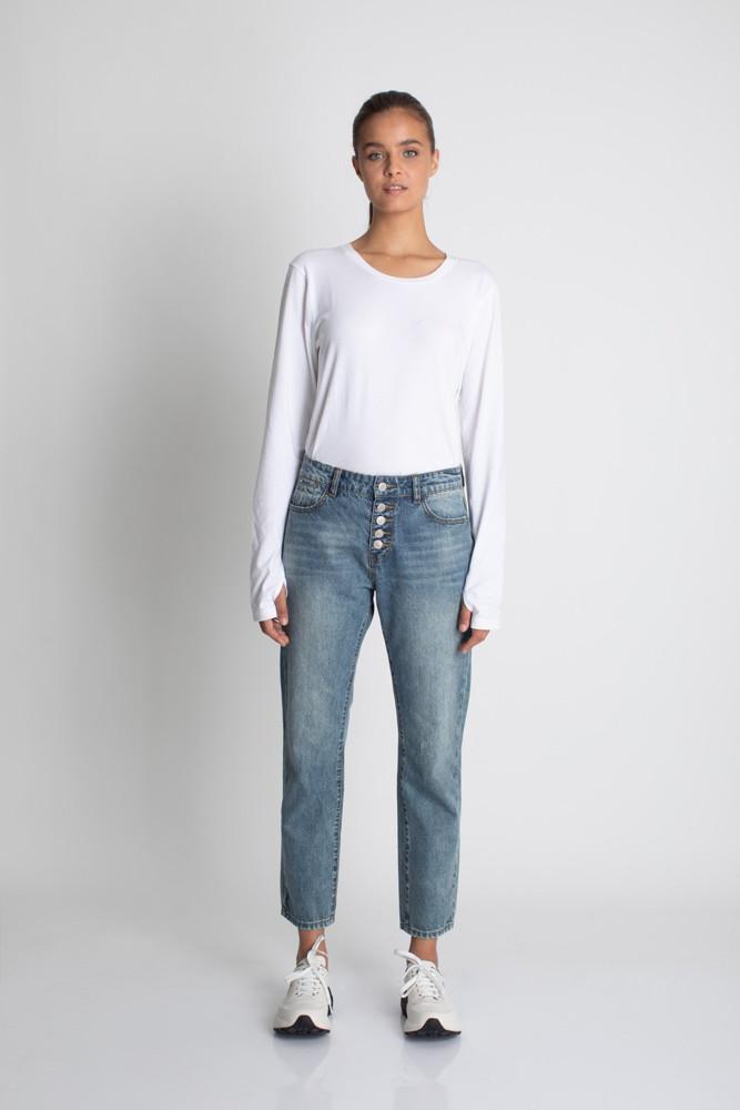 תמונה של מכנסי BOYFRIEND-5 ג'ינס