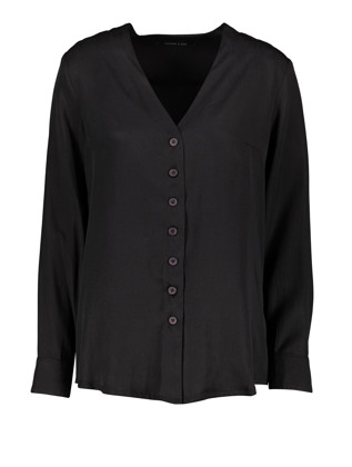 תמונה של חולצת סוניה שחורה